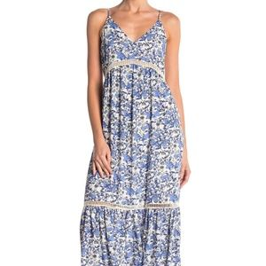 CeCe Dresses - CECE by Cynthia Steffe Ivy Forest Maxi Dress
